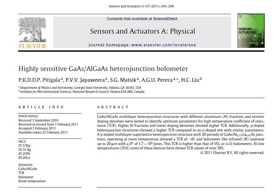 A  G  U  Perera - Research Publications